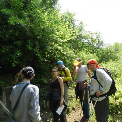 Hiking guide course Upper Racha 2015